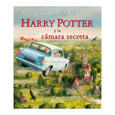 HARRY POTTER Y LA CAMARA SECRETA ILUSTRADO