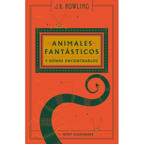 ANIMALES FANTÁSTICOS Y DÓNDE ENCONTRARLOS (TAPA DURA)