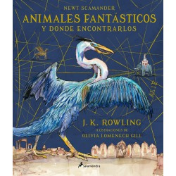 ANIMALES FANTÁSTICOS Y DÓNDE ENCONTRARLOS (ILUSTRADO)