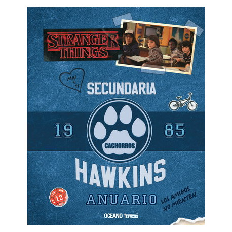 STRANGER THINGS 2. Anuario 1985 – SECUNDARIA HAWKINS
