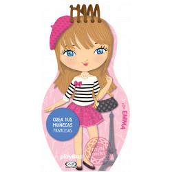 Crea tus muñecas francesas con Emma