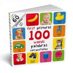 FIRST PRIMERAS 100 WORDS PALABRAS