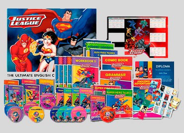 JUSTICE LEAGUE THE ULTIMATE ENGLISH COURSE