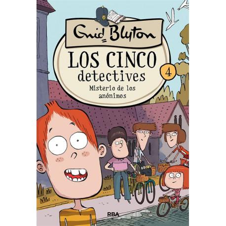 LOS CINCO DETECTIVES 4 – MISTERIO DE LOS ANÓNIMOS
